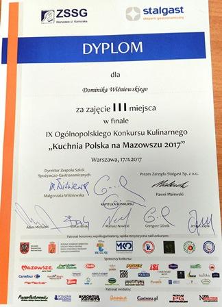 Kuchnia Polska Na Zsgh